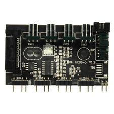More details for gamemax mini argb hub, 3 pin 4 port, upto 4 x argb fans + 4 x 3-pin pc fans