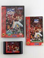 NFL Football '94 Starring Joe Montana (Sega Genesis) | Complete & Tested