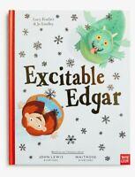 New Excitable Edgar Dragon ! Hardback Book -  John Lewis Christmas 2019 Advert
