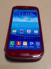Samsung Galaxy S III (SGH-i747) 16GB - Garnet Red - AT&T UNLOCKED - WORKS
