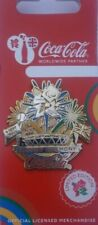 OFFICIAL LONDON 2012 COCA COLA PARALYMPIC CLOSING CEREMONY PIN BADGE BRAND NEW!