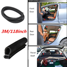 118inch 3M Rubber Seal Car Door Edge Protector Strip Bulb RV Boat For Acura BMW