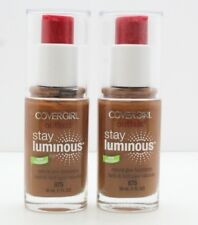 2x Covergirl Outlast Stay Luminous Natural Glow Foundation- 875 Soft Sable, 1 Oz