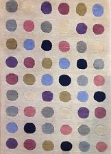Delightful Dotted - Modern Spotted Runner - Contemporary Carpet - Rug 2.6 x 6 ft