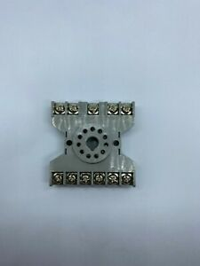 New Square D 8501NR61 Cube Relay Base (11 Pin Round ) Series A