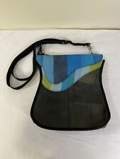Recycled Up-Cycled Tire Inner Tubes Rubber Crossbody Messenger Shoulder Handbag