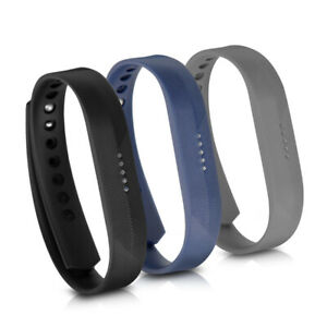 3x Sportarmband für Fitbit Flex 2 Fitness Tracker Halterung Sportband Armbanduhr