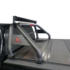 Black Horse Classic Roll Bar Black steel fits 2005 2021 Nissan Frontier