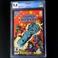 Super Powers #1 (DC 1984) 💥 CGC 9.8 💥 Highest! Joker & Penguin Cover Comic