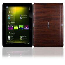 Skinomi Tablet Skin Dark Wood+Screen Cover for Asus Transformer Infinity TF700