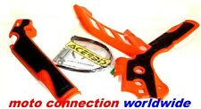 Acerbis Frame Guards KTM SX SXF 125/250/350/450/500 11-15 EXC EXC-F 12-15 Orange