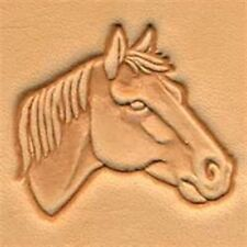 Horse Head Right 3d Stamp 88342-00 by Tandy Leather