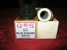 Blue Danube Waltz - QRS Player Piano Roll #3034