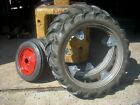 IH Farmall Mccormick Cub High Crop Rims and Tires Cub 15 Inch Rims 30 Inch Rims