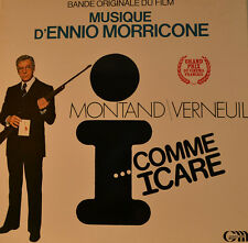 "OST - SOUNDTRACK - I COMME ICARE - ENNIO MORRICONE 12"" LP (L789)"