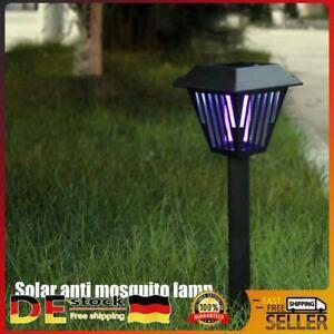 Solar LED Moskito Killer Insektenvernichter Lampe Mückenfalle Licht Nachtlichter