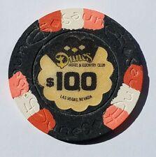 DUNES CASINO 9TH ISSUE $100 CASINO CHIP 1960,s LAS VEGAS