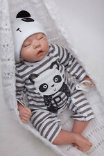 50cm Reborn Babys Dolls Madchen echte Silikon babypuppen Lebensechte Junge Puppe