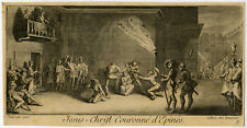 Antique Print-RELIGIOUS-CHRIST-CROWN-THORNS-PILATE-Callot-c.1750