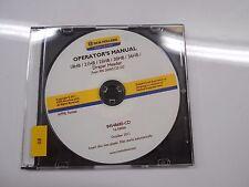 New Holland 18HB 21HB 25 HB 30HB 36 Operator's Owner's Draper Header Manual CD