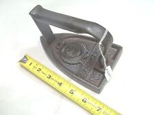 Sad Iron, Very Rare Antique GENDARME No. 5 Sad Iron, In Great Condition