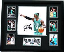New Rajon Rondo Signed Boston Celtics Limited Edition Memorabilia