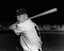 1951 New York Yankees MICKEY MANTLE #6 Glossy 8x10 Photo Rookie Print Poster RC