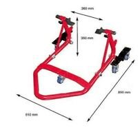 BEQUILLE STAND ARRIERE + DEPLACE MOTO TRIUMPH / KYMCO / DAELIM / HUSQVARNA / MBK