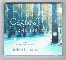 GAGNEZ EN CONFIANCE - MÉDITATIONS CRÉATIVES - SYLVIE LAFRANCE - CD NEUF