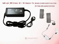 18V AC Adapter For Bose Companion 20 Computer Speakers System Power Cord Charger