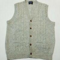 Jantzen Vintage sweater Vest - Wool - Men's Large - GRAY