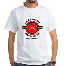 FIELD ARTILLERY U.S. ARMY * KING OF BATTLE  MILITARY CAMPAIGN BATTLE SHIRT