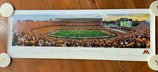 Minnesota Gophers Tcf Bank Stadium Panorama Print - 1st Game 2009 - Blakeway