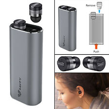True Wireless Bluetooth Mini Headphones Earphones Stereo Earbud For iPhone
