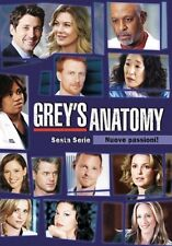 COFANETTO GREY'S ANATOMY  6° stagione completa in 6 dvd