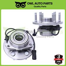 For 99-06 Chevy Silverado 1500 Tahoe Escalade GMC 2 Front Wheel Hub Bearing 4x4