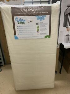 Harmony 2-Stage Baby & Toddler Mattress by Lullaby Earth Made Safe.
