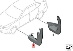 For BMW Genuine Mud Flap Front 82162333951