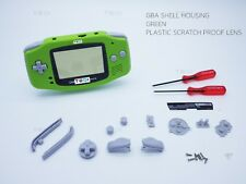 Lime Green Nintendo Game Boy Advance GBA Casing Housing Case Shell Screwdriver