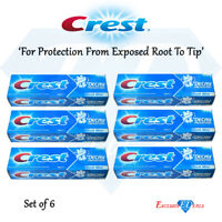 Crest Toothpaste Cavity Decay Prevention Fresh Mint Oral Care - 100ml x 6