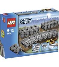 Lego City trenes Vías flexibles