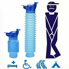 Male Urinal Bottle & Lid 750ml Portable Toilet Car/Camping/Travel/Bed Urine Pot