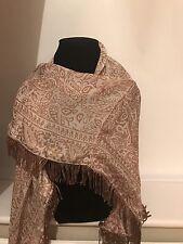Beautiful Alexia Parmigiani Designer 100% Silk Paisley Scarf/Wrap RRP £145