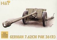 Hat - German (WWII) Pak-36r anti tank gun WWII - 1:72