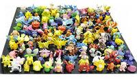 144PCs Wholesale Lots Cute Pokemon Mini Random Pearl Figures Toy 2-DAY SHIPPING