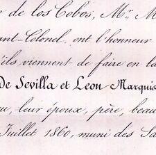 Jose Maria De Sevilla y Leon Marquès De Negron 1860