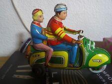 Technofix 282 Tin Friction Scooter Motorcycle Vespa Germany 1950s