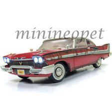 AUTOWORLD AWSS119 CHRISTINE 1958 PLYMOUTH FURY 1/18 DIRTY RUSTED VERSION