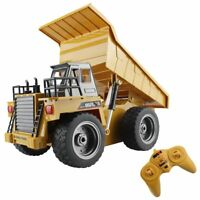 Fistone RC 6 Ch 2.4G Remote Control Dump Truck 4WD Mine Construction Vehicle