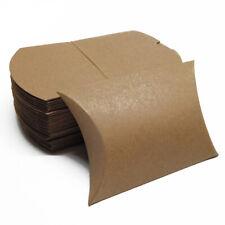20pcs Cute Pillow Shape Kraft Paper Box Favour Wedding Party Candy Boxes